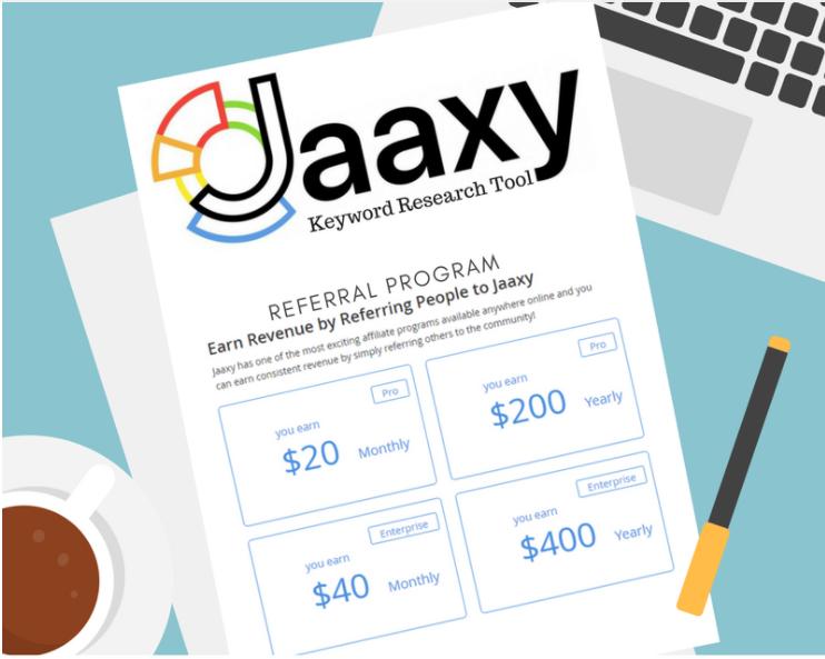 Jaaxy Referral Program