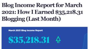 Ryan Robinson - Blog Income Report