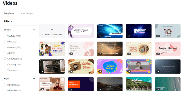 Canva Video Editing Features